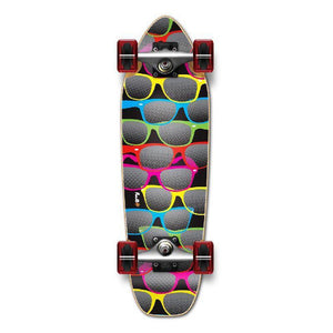 Punked Mini Cruiser Shades Complete - Longboards USA