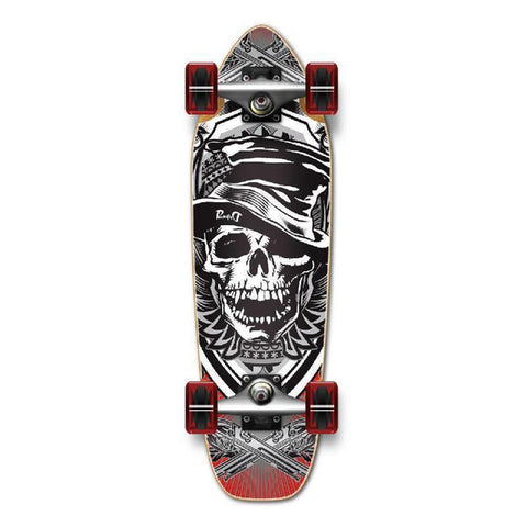 Punked Mini Cruiser Skull Hat Complete - Longboards USA