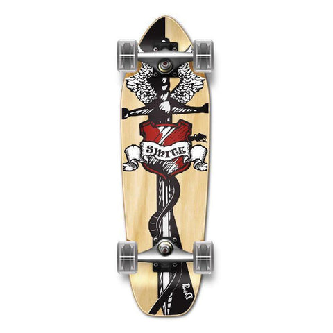 Punked Mini Cruiser Smite Complete - Longboards USA