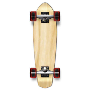 Punked Natural Micro Cruiser - Longboards USA