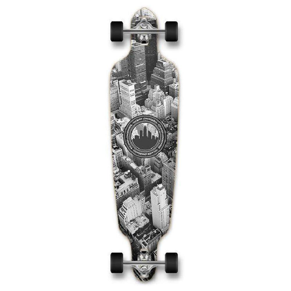 "Punked New York drop through 40"" Longboard - Complete - Longboards USA"