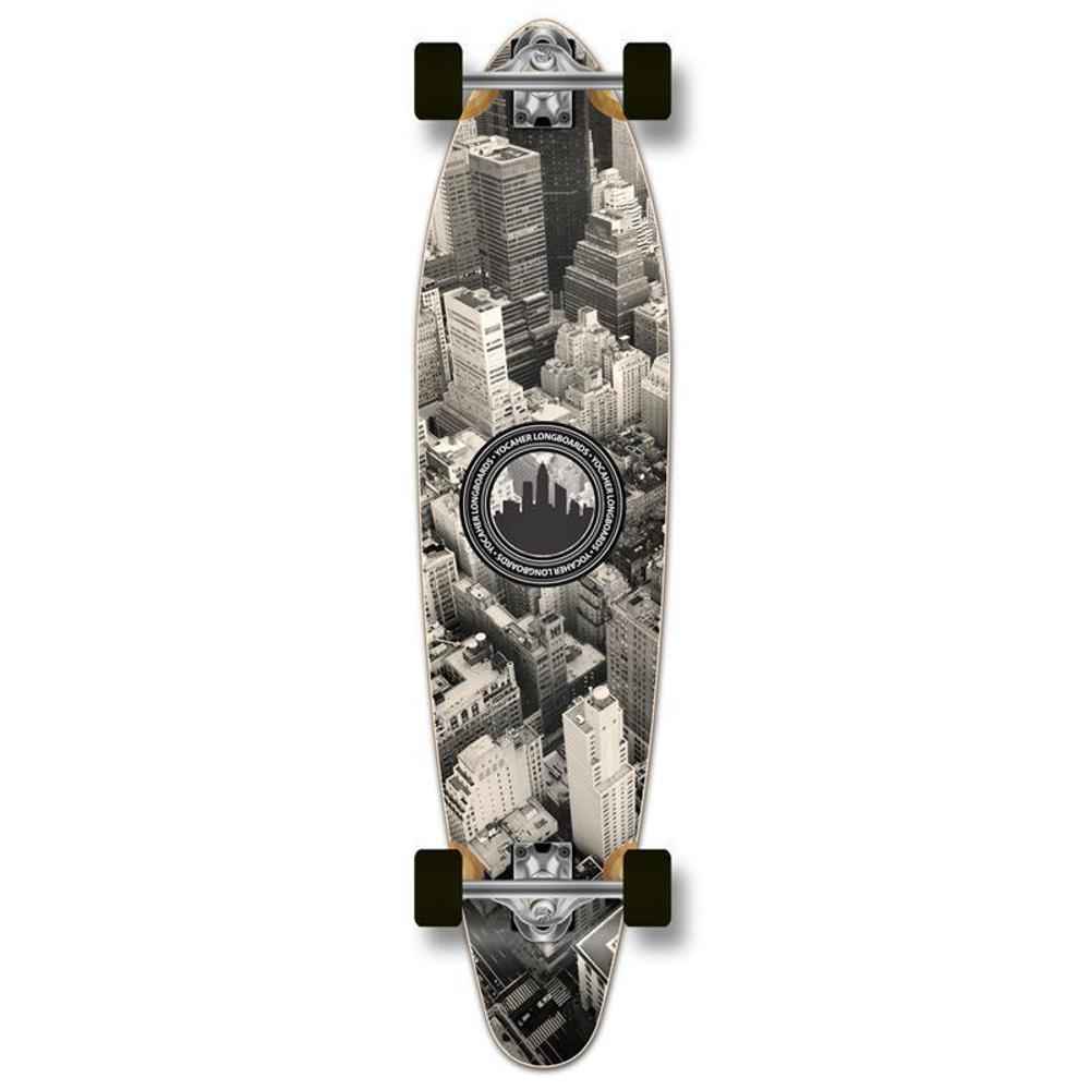 Punked New York Kicktail 40 inches Longboard - Longboards USA