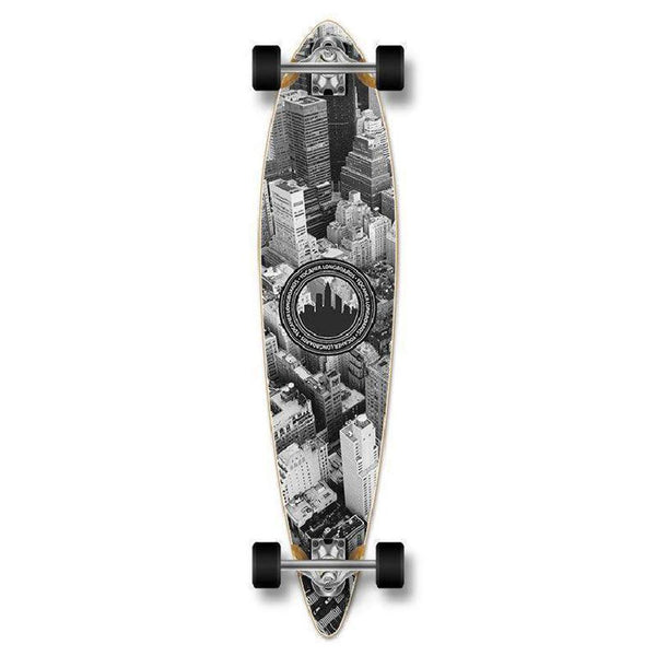 "Punked New York Pintail 40"" Longboard - Complete - Longboards USA"