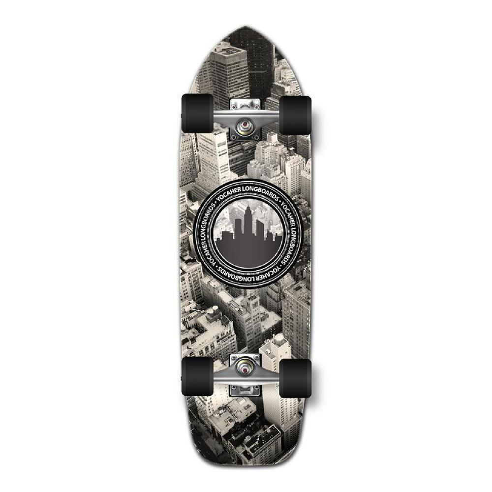 Punked Old School Longboard Complete - New York - Longboards USA