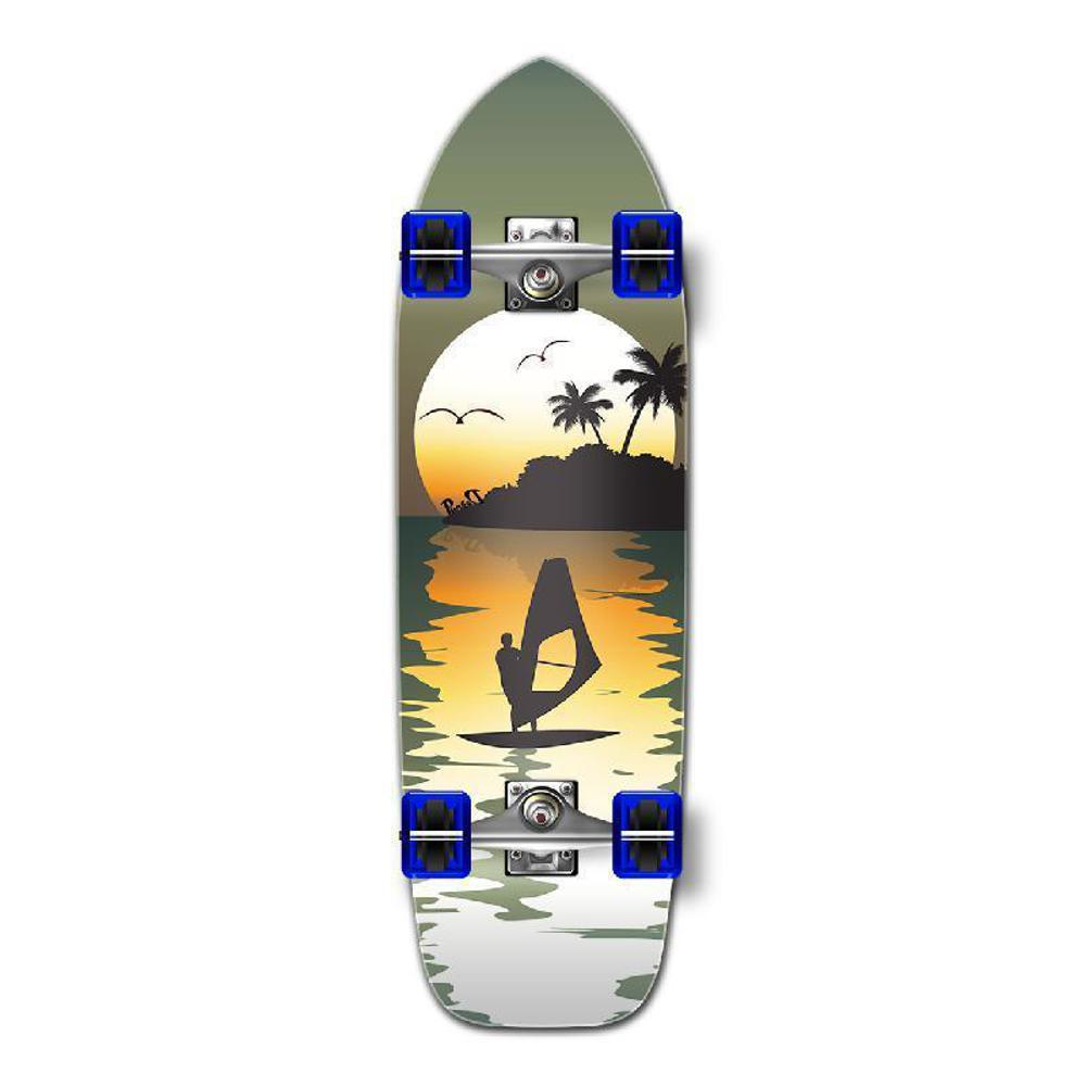 Punked Old School Longboard Complete - Surfer - Longboards USA