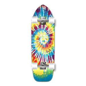 Punked Old School Longboard Complete - Tiedye Original - Longboards USA
