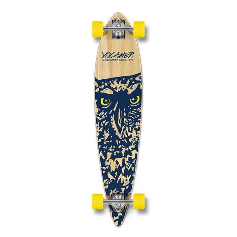 "Punked Owl Pintail 40"" Longboard - Longboards USA"