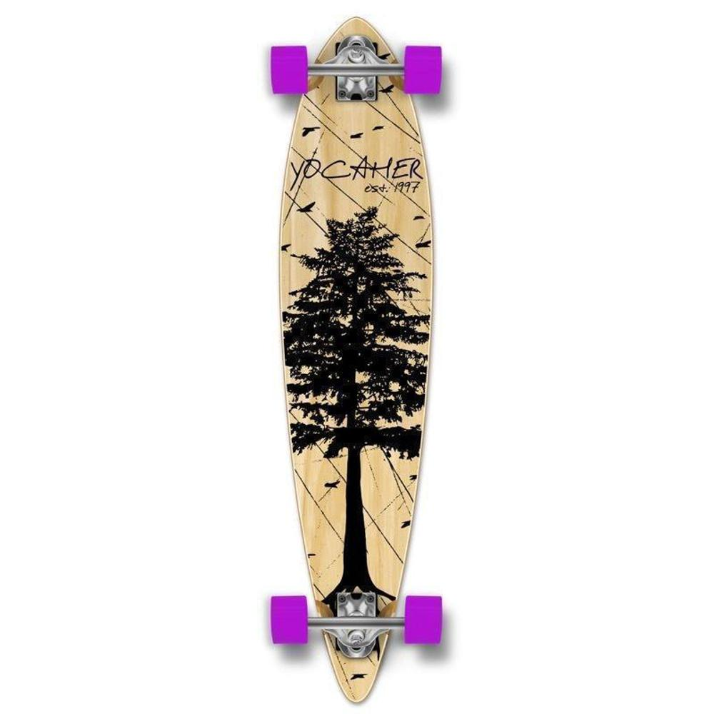 "Punked Pines Natural Pintail 40"" Longboard - Longboards USA"