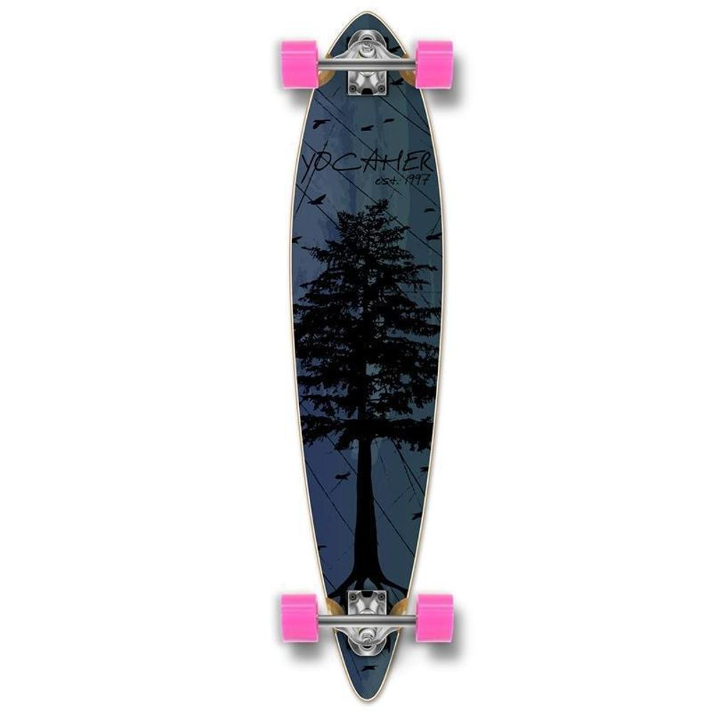 Punked Pintail In The Pines Blue 40 inches Longboard - Longboards USA