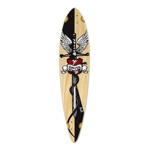 Punked Pintail Smite Longboard Deck - Longboards USA