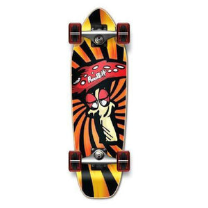 Punked Shroom Mini Cruiser 27 inch - Complete - Longboards USA