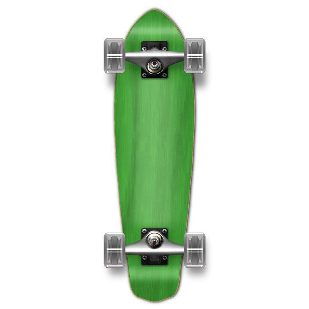 Punked Stained Green Micro Cruiser - Longboards USA