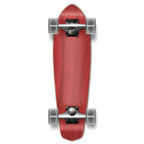 Punked Stained Red Micro Cruiser - Longboards USA