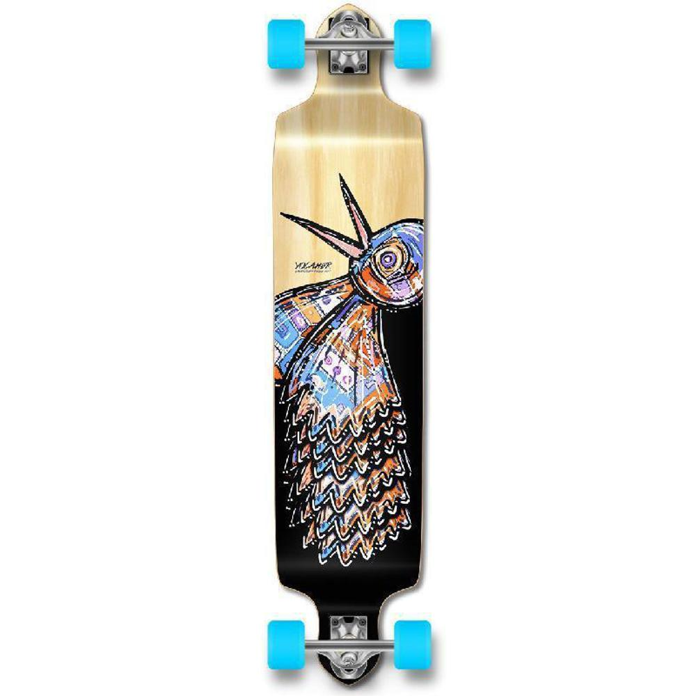 Punked The Bird Natural Drop Down Downhill Longboard - Longboards USA
