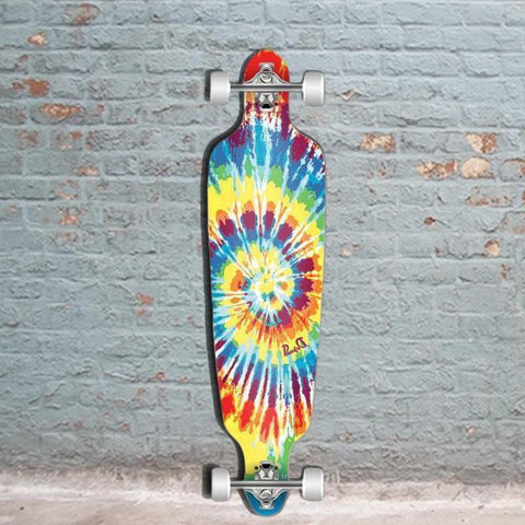 "Punked Tiedye Original Drop Through Longboard 40"" - Longboards USA"