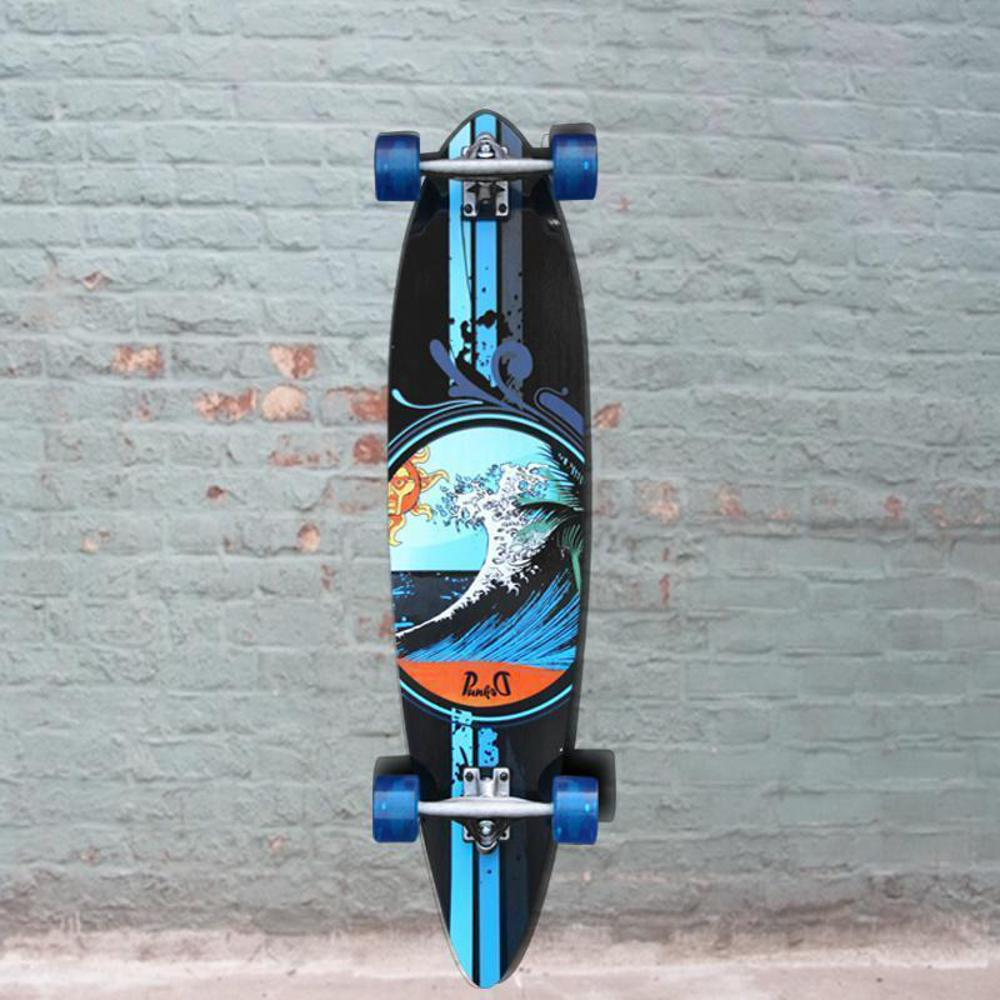 Punked Wave 40 inch Pintail Longboard - Longboards USA