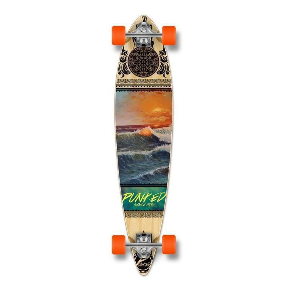 "Punked Wave Scene Pintail 40"" Longboard - Longboards USA"