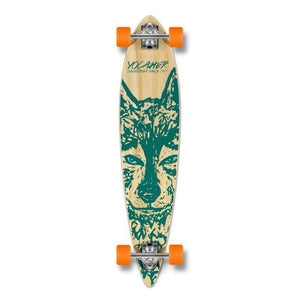 "Punked Wolf Pintail 40"" Longboard - Longboards USA"