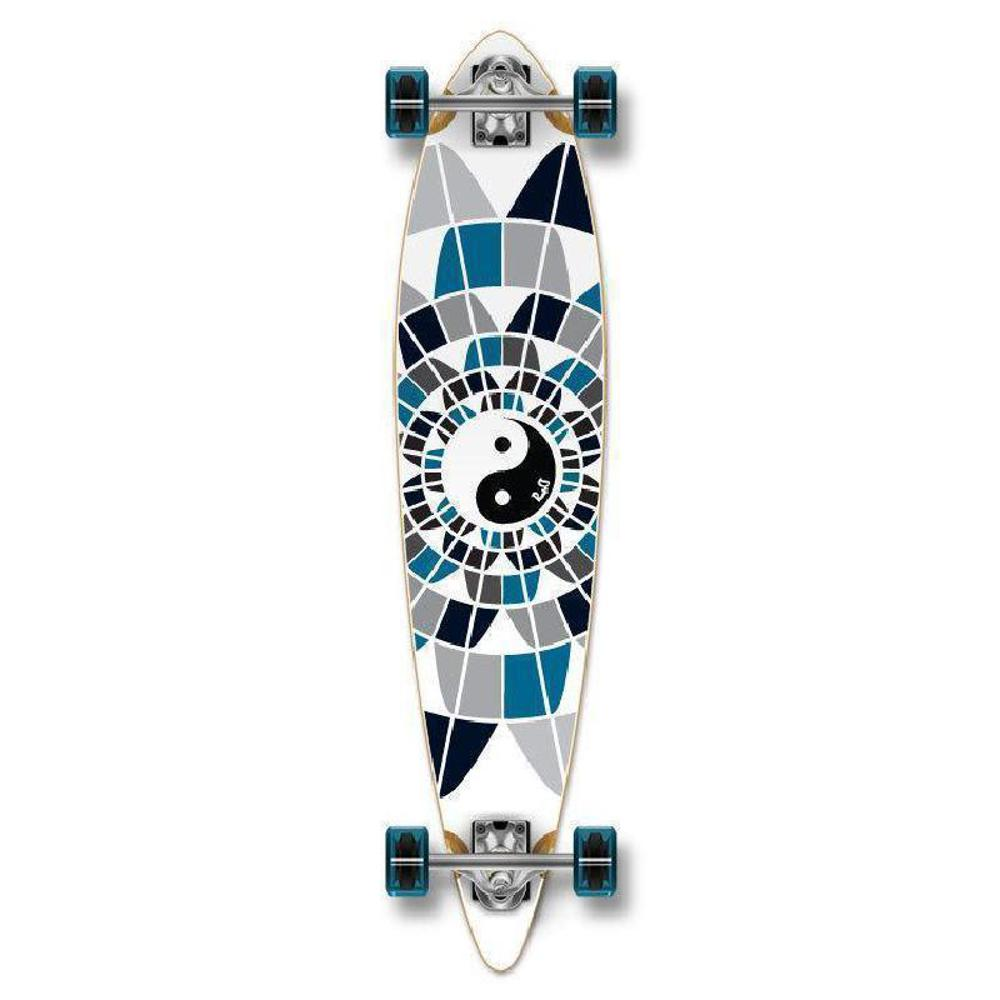 "Punked Yin Yang Pintail 40"" Longboard - Longboards USA"