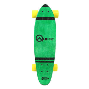 Quest Pocket Rockit Green 24 - Longboards USA