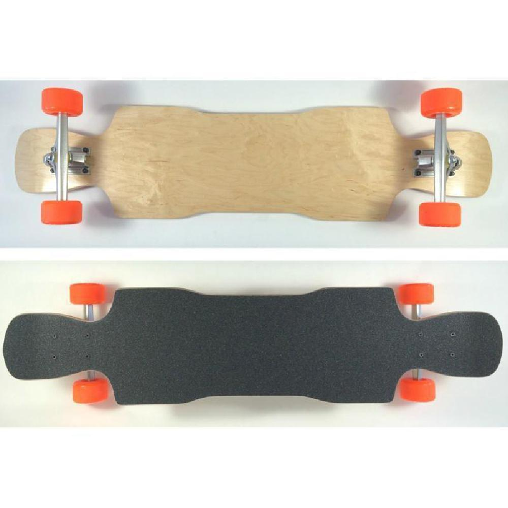 "Raven Top Mount Double Kick Longboard 38"" maple - Complete - Longboards USA"