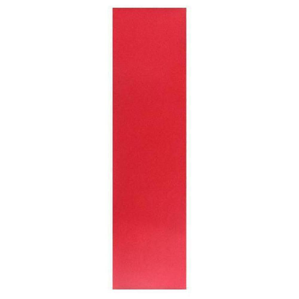 "Red Colored Longboard Skateboard Griptape Sheet 9""x 33"" - Longboards USA"