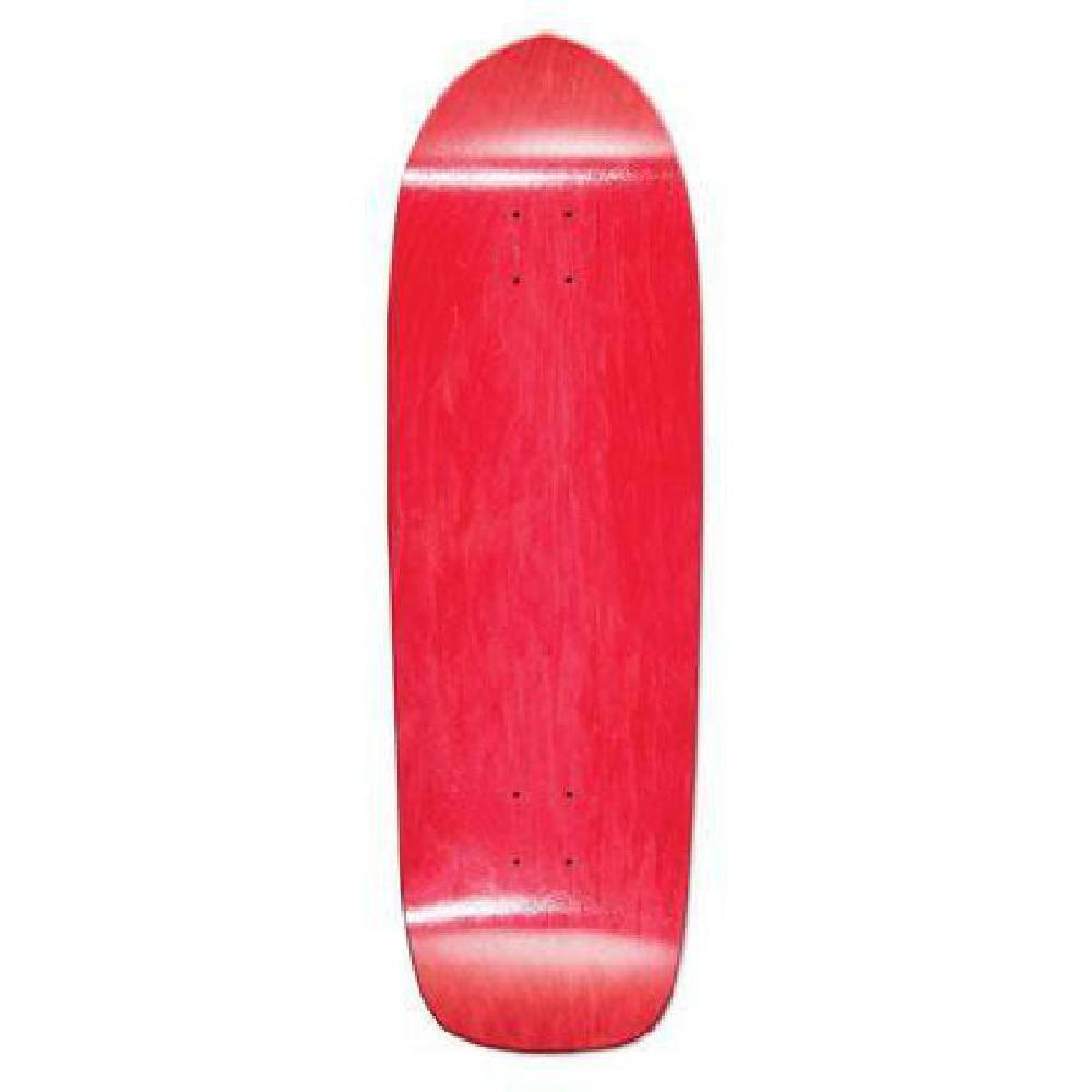 Red Skateboard Deck Blank Old School Deck 33 x 10 - Longboards USA