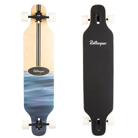 "Rift Ripple Drop Through 41"" Longboard - Longboards USA"