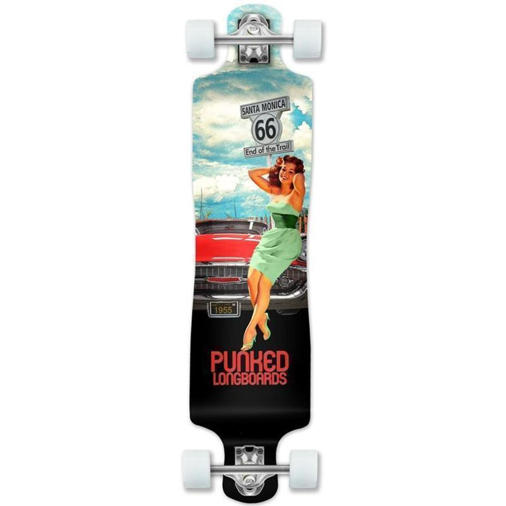 Route 66 Lowrider Double Drop Longboard Santa Monica - Longboards USA