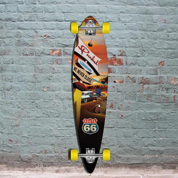 "Route 66 Pintail Diner Punked 40"" Longboard - Longboards USA"