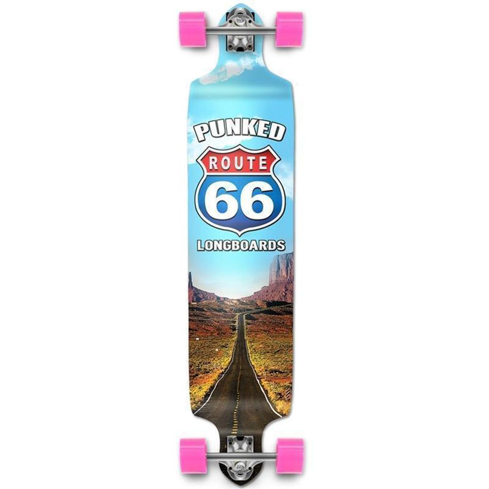 "Route 66 Punked The Run Drop Down Longboard 41"" - Longboards USA"