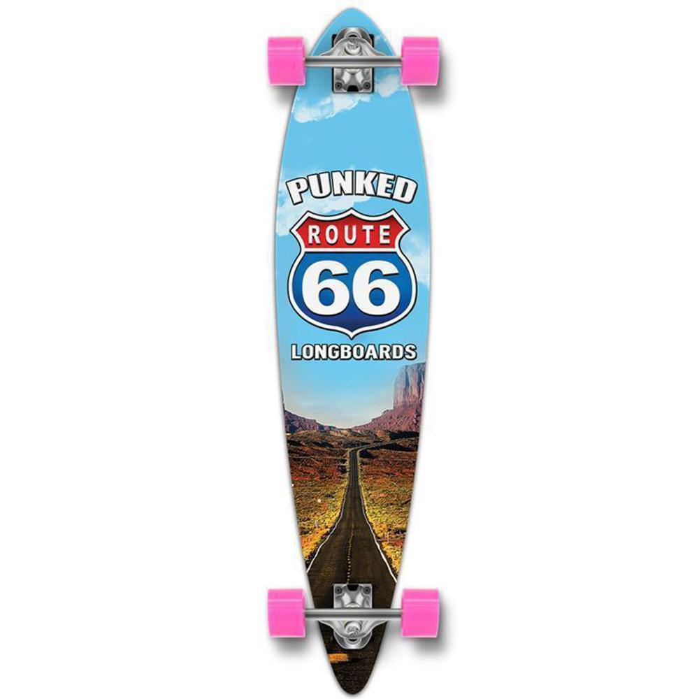 "Route 66 The Run Pintail Longboard 40"" from Punked - Longboards USA"