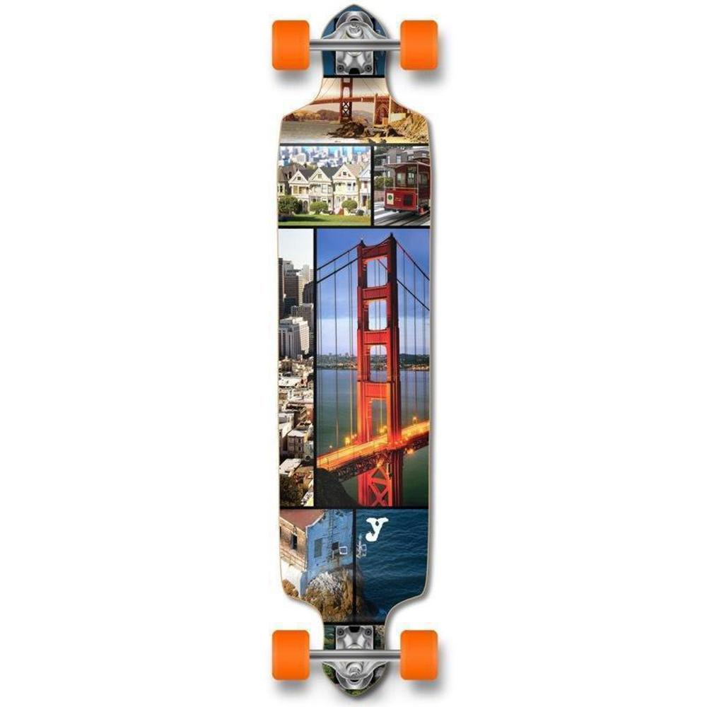 San Franciso Drop Down Longboard 41 inches Complete - Longboards USA