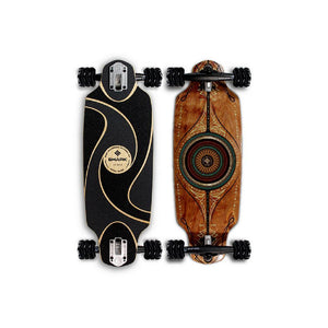 "Shiver Astral DK Drop-thru 27"" Longboard - Longboards USA"