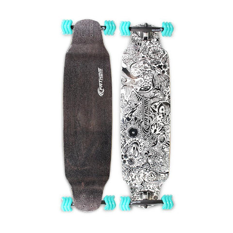 "Shiver DayDreamer 38"" Drop Down Longboard - Longboards USA"