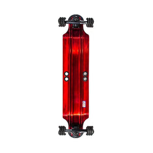 "Shiver Shark Aluminum 38"" Drop Down Longboard - Longboards USA"