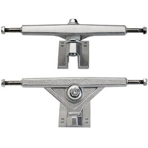 Silver Radeckal Standard Reverse King Pin Longboard Trucks - set of 2 - Longboards USA