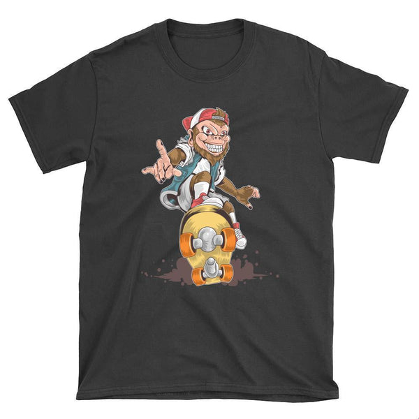 Skate Monkey Skateboard T-Shirt - Longboards USA