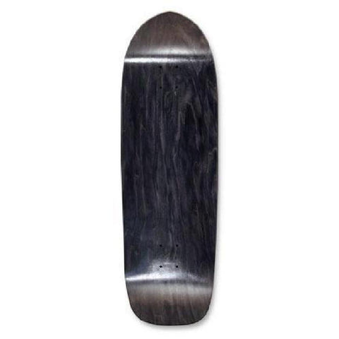 "Skateboard Deck - Blank Old School Deck - 33"" Deck - Black - Longboards USA"