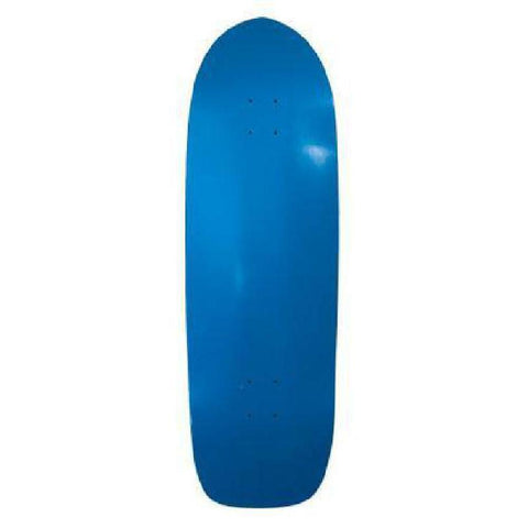 Skateboard Deck - Blank Old School Dipped Deck - 33 x 10 - Deck - Blue - Longboards USA