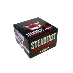 Skateboard Precision Bearings Abec-7 - Steadfast - Pack of 10 - Longboards USA