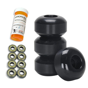 Skateboard Starter Combo Kit - with 52mm Wheels - Longboards USA