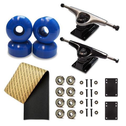Skateboard Starter Combo Kit - With 54mm Wheels - Longboards USA
