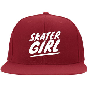 Skater Girl Flat Bill Cap - Longboards USA