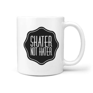 Skater Not Hater - Coffee Mug - Longboards USA