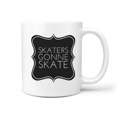 Skaters Gone Skate - Coffee Mug - Longboards USA