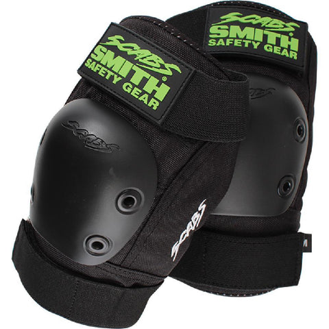 Smith Scabs Kool Black Lime Elbow Pads - Small - Longboards USA