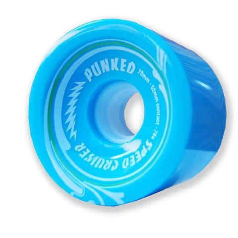 Speed Cruiser 70mm Longboard Wheels - Solid Light Blue - Longboards USA
