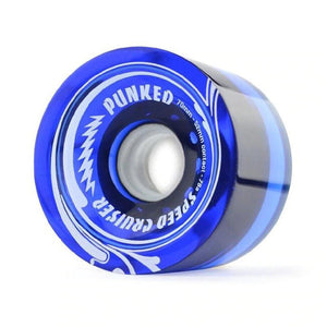 Speed Cruiser 70mm Longboard Wheels - Transparent Blue - Longboards USA