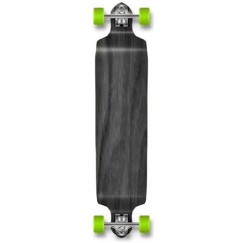 "Stained Black Drop Down Blank 41"" Longboard - Longboards USA"